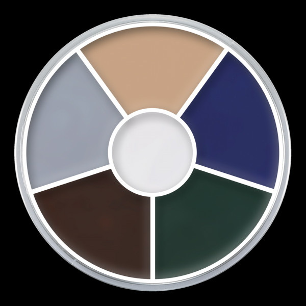 "Kryolan Cream Color Circle ""ZOMBIE"""