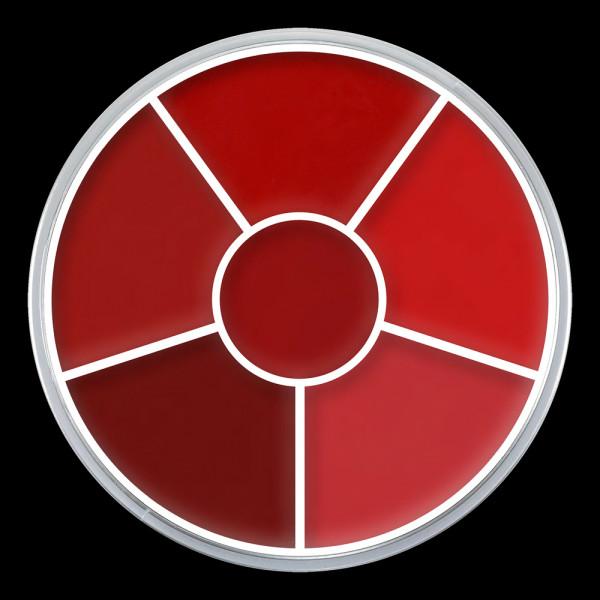 "Kryolan Cream Color Circle ""LIP ROUGE WHEEL"""