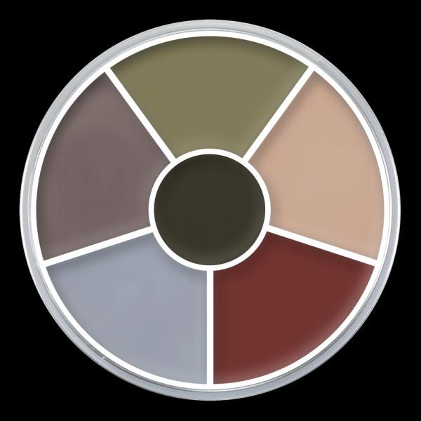 """Kryolan Cream Color Circle """"DEATH"""""""
