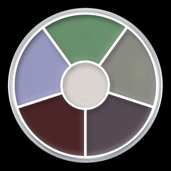 "Kryolan Cream Color Circle ""CREATURE FEATURE"""